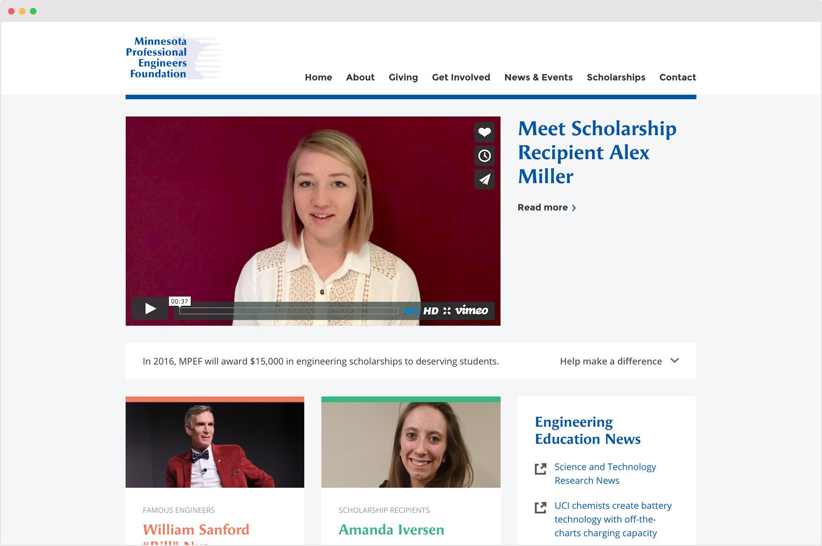 Minnesota Professional Engineers Foundation | Full Windsor